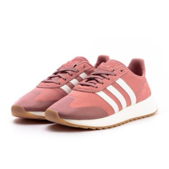 brand new afb7c 9d2a7 Adidas Flashback MeshLeather Sneaker Pink Size 8